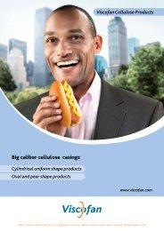 Big caliber cellulose casings - Viscofan