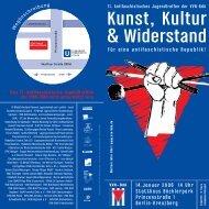 Kunst, Kultur - VVN-BdA Ravensburg-Oberschwaben