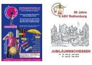 Schiessplan & Festführer - ZSAV
