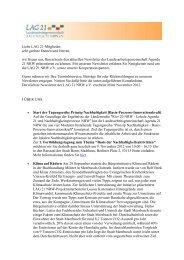 LAG 21 NRW_Newsletter_Oktober 2012