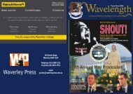 April Issue (770KB) - Waverley College