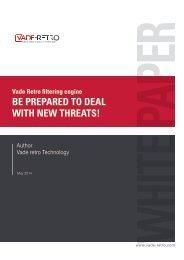 White Paper - Vade Retro Technology