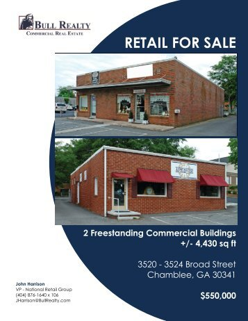 RETAIL FOR SALE - Bull Realty