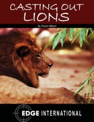 Download Casting Out Lions in [pdf]. - Edge International