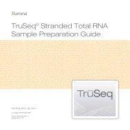 Directional RNA –seq Illumina - URGV