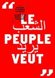 affiches et dessins de presse autour de la révolution tunisienne