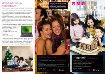 Hírmondó 2008. december (PDF, 0.5 MB) - T-Home