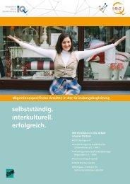 selbstständig. interkulturell. erfolgreich. - Netzwerk Integration durch ...