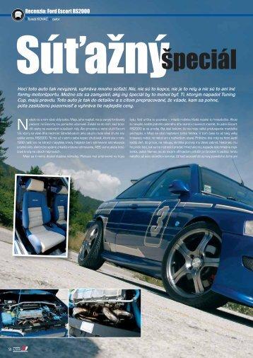 Recenzia: Ford Escort RS2000 - AutoTuning.sk