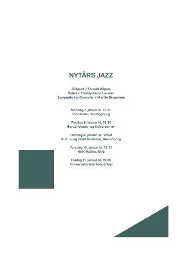 Nytårs jazz / 7.-11. januar 2013 - Copenhagen Phil