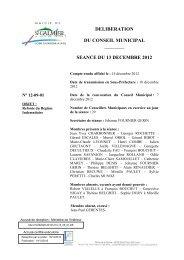Refonte Régime Indemnitaire - Site officiel - Mairie de Saint-Galmier