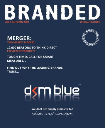 ideas and concepts - DKM Blue