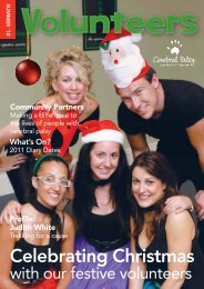 Volunteers - The Spastic Centre - Cerebral Palsy Alliance