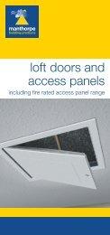Loft doors and access panels