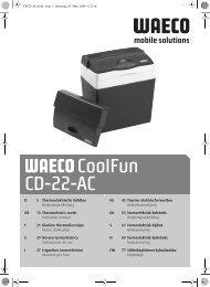 CoolFun CD-22-AC - Waeco