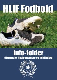 Trænermappe fodbold - Houlbjerg-Laurbjerg Idrætsforening