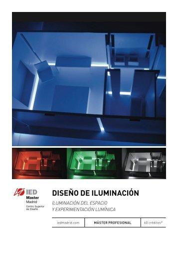 DISEÑO DE ILUMINACIÓN - IED Madrid