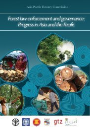 Forest law enforcement and governance: progress in Asia - FAO