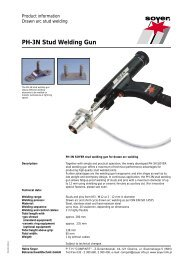 PH-3N Stud Welding Gun - Soyer
