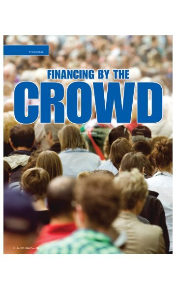 Financing by the Crowd - Cleaner Times Magazine
