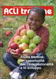 Acli Trentine NOVEMBRE 2005