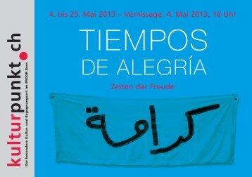 TIEMPOS DE ALEGRIA – Zeiten der Freude - Karama