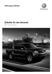 Preisliste - VW Nutzfahrzeuge