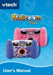 Kidizoom Plus - Manual - VTech