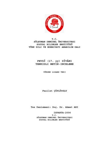 Download (402Kb) - Suleyman Demirel University Research ...