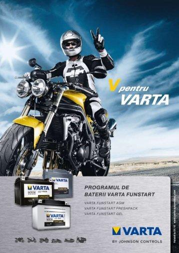 PROGRAMUL DE BATERII VARTA FUNSTART - Baterii auto