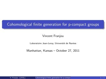Cohomological finite generation for p-compact groups