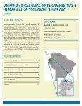 UNIÓN DE ORGANIZACIONES CAMPESINAS E ... - Equator Initiative - Page 3