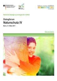 Kurzdokumentation (PDF, 600 KB ) - Biodiversität - schützen.nutzen ...
