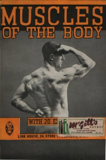 Page 1 Page 2 Page 3 THE MUSCLES OF THE BODY And How te ...