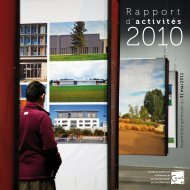 Rapport d'activités 2010 - CAUE