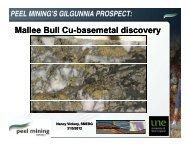 M ll B ll C b l b l di Mallee Bull Cu-basemetal basemetal discovery ...