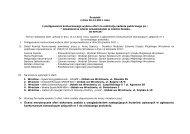 Protokół z oceny merytorycznejProtokół z oceny merytorycznej
