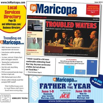 TROUBLED WATERS - InMaricopa.com
