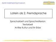 Latein L6 - Sankt-Adelheid-Gymnasiums Bonn