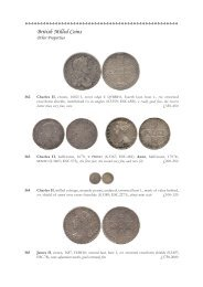 British Milled Coins - St James's Auctions