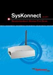 SysKonnect SK-54P1 802.11g Wireless Print Server