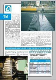 GIUNTO MODULARE - ALGAFLEX TM - MODULAR ... - Alga S.p.A.