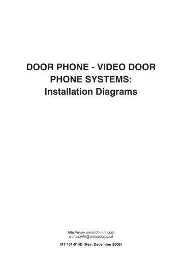 door phone video door phone systems installation urmet?quality=85 urmet intercom systems 1129 11 secutron urmet wiring diagram at gsmportal.co