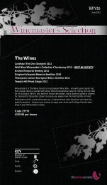 Winemaster's Selection June 2013 - White - The Wine Society