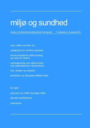 miljø og sundhed nr. 28, september 2005 (PDF 822KB)