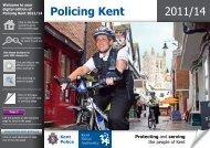 2011/14 Policing Kent - Kent Police
