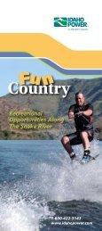 Fun Country Brochure - Idaho Power