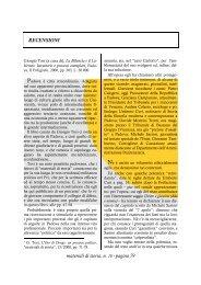 materiali di storia, n. 18 - pagina 79 RECENSIONI - Centro Studi ...