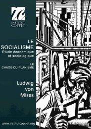 Chapitre II – Le socialisme - Institut Coppet