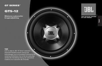 GT5-12 - JBL